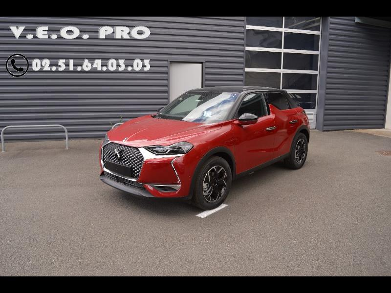 DS 3 Crossback BlueHDi 100ch So Chic + GPS + Pack Cuir + JA17 + Full LED + Camera